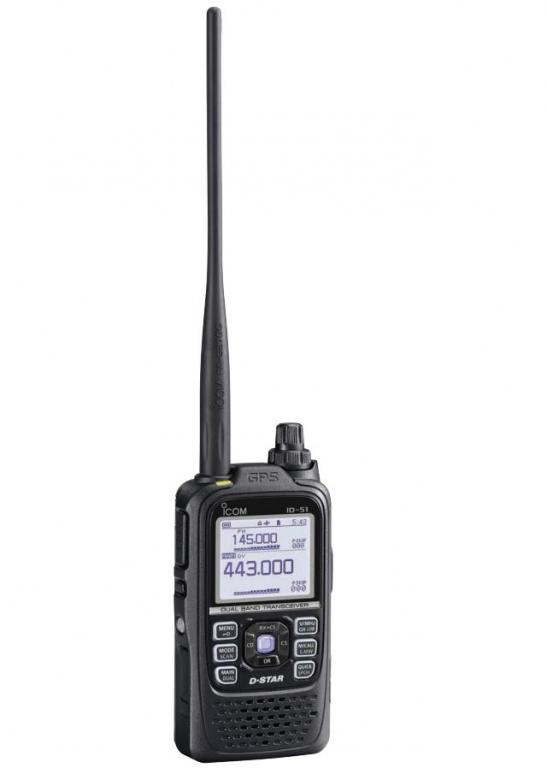 ICOM ID-51A 泛宇無線電對講機