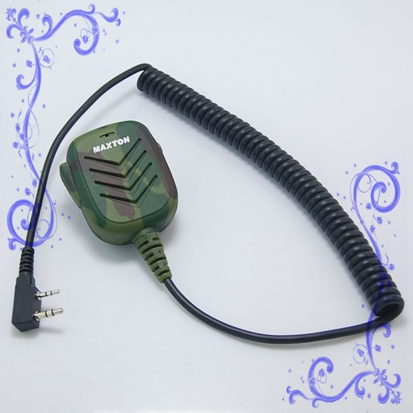 對講機軍綠迷彩式手咪 泛宇無線電對講機
