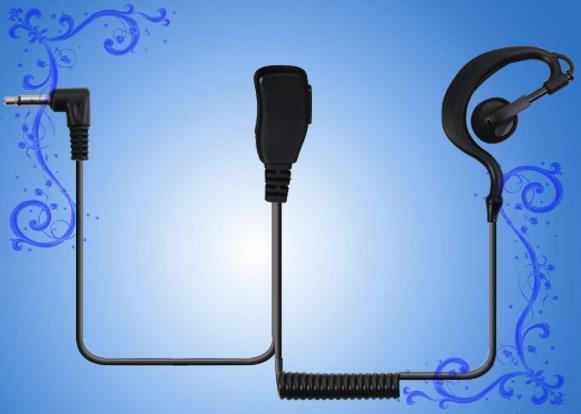 MOTOROLA T6200,T6220,T5720,T5728對講機耳掛卷線耳機 泛宇無線電對講機