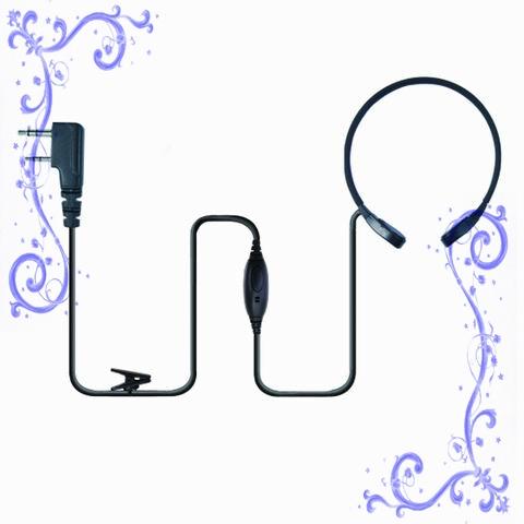 喉振式對講耳機,VOX聲控喉振耳機 泛宇無線電對講機