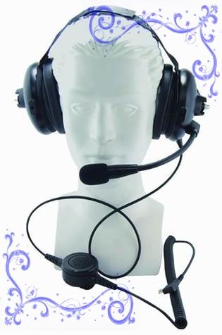 MOTOROLA對講機抗噪耳機 泛宇無線電對講機
